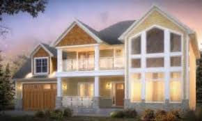 craftsman ranch house plans with walkout basement walk out lake