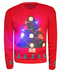 christmas tree jumper with lights forever womens long sleeves christmas tree led light xmas novelty