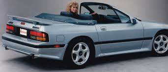 fc rx7 k070059 1986 1992 mazda rx7 series 4 u0026 5 fc convertible wing