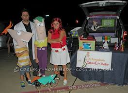 Phineas Halloween Costume Cast Phineas Ferb Family Costume