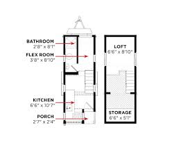 Floor Plans Tiny Homes by Cypress Tumbleweed Houses