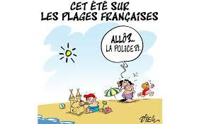 france sur les plages françaises la laïcité appliquée manu