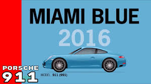 porsche blue paint code porsche 911 special bold colors over the years youtube
