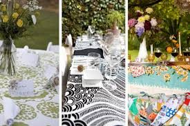 table overlays for wedding reception trends of 2010 graphic reception table linens edyta szyszlo