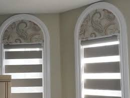 arched window blinds canada half circle shade on modern home