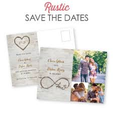 Rustic Save The Date Cards Save The Date Postcards Ann U0027s Bridal Bargains