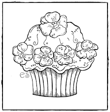 cute cupcake coloring pages cute cupcake coloring pages muffin pinterest