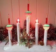 9 5 single light ivory candolier christmas indoor candle l vintage christmas 8 light candelabra noma saucer c 6 bubble lights