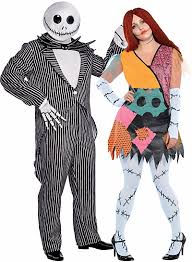 Sally Jack Halloween Costumes Halloween Couples Costumes Ideas Jack Skellington Sally Walyou