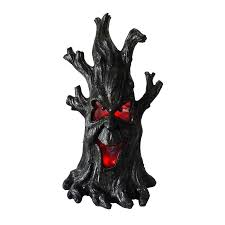 shop living pre lit tree greeter with constant led