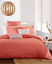 orange bedding decor by color