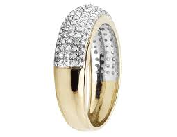 10mm ring 10k yellow gold men s 10mm pave geniune diamond fashion wedding