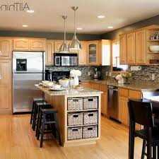 gray kitchen walls with oak cabinets grey kitchen walls with oak cabinets best of blooming gray subway