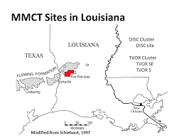 louisiana map fort polk the middle miocene climate transition in louisiana