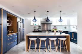 blue modern kitchen cabinets 20 blue kitchen cabinet ideas that will inspire your kitchen