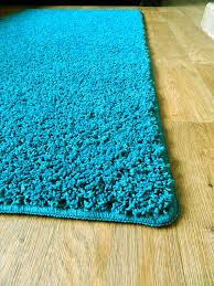Washable Bedroom Rugs New Teal Blue Aqua Shaggy Mats Machine Washable Non Slip Large