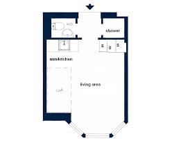 perfect floor plan small studio apartment interior idea home