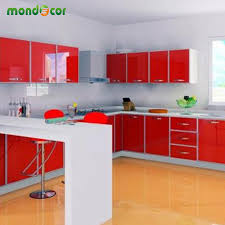Pvc Kitchen Furniture Aliexpress Com Buy New Glossy Pvc Waterproof Self Adhesive