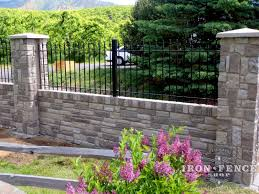 Garden Walls And Fences by Which Iron Or Aluminum Fence Height Is Best For My Project Iron