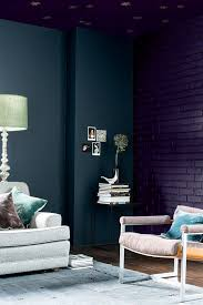 blue paint ideas for living rooms dulux dark and light trend