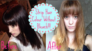 Color Dye For Dark Hair How To Remove Colour Without Bleach How I Got From Dark To Light