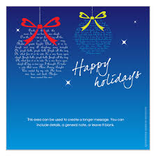 happy holidays blue invitations cards on pingg