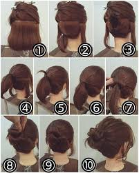 different hairstyles in buns easy bun hairstyle for short hair makeup mania state of mane