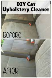 Vehicle Upholstery Cleaner Diy Car Upholstery Cleaner The Budget Diet