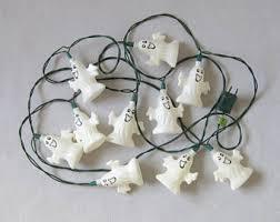 halloween ghost string lights vintage halloween ghost string lights mini blow mold blowmold