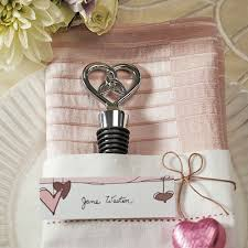 wedding favor the knot bottle stopper with gift packaging the knot shop