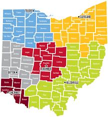ohio business county map search ohiobiz com