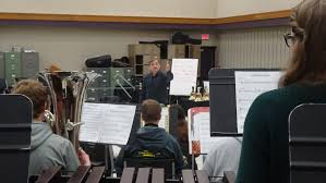 guest conductor dr richard fischer at rlhs