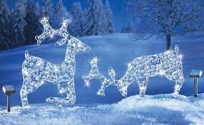 large reindeer decorations stylish outdoor reindeer