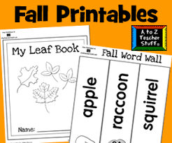 fall teaching ideas activities lessons and printables a to z