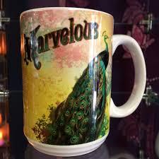 marvelous peacock mug inspirit crystals