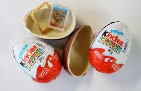 kinder suprise egg surprises banned in the u s a