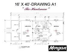 16 x 40 cabin floor plans 2 stylist inspiration 24 home pattern 13 16x40 cabin floor plans tiny house 16x40 beautiful inspiration