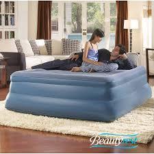 Air Bed Pump Walmart Simmons Beautyrest Queen Sky Rise Raised Pillowtop Air Bed