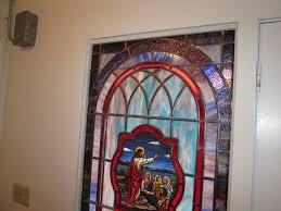 Window Glass Repair Phoenix Stained Glass Windows At Phoenix Baptist Church In Lansing Nc