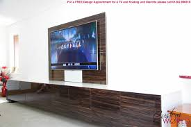 fitted tv furniture and wall units