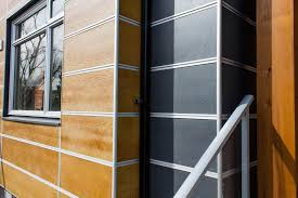fiber cement board with aluminum trim mcm project exterior