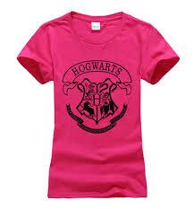 wholesale novelty hogwarts letters print t shirt women 2016 harry