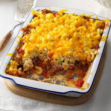 beef u0026 noodle casserole recipe taste of home
