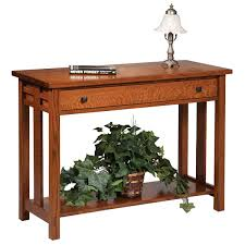 Oak Sofa Table Amish Sofa Tables Furniture Amish Sofa Tabless Amish Furniture