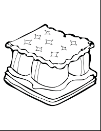 free gingerbread house coloring pages toddlers camping