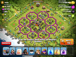 the flower base coc clash of clans pinterest