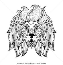 lion tattoo stock images royalty free images u0026 vectors shutterstock
