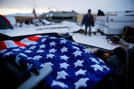 State Flag Of North Dakota N D To Shelter Pipeline Protesters Times Union
