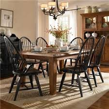 Broyhill Furniture Attic Heirlooms  Piece Dining Set AHFA - Broyhill dining room set