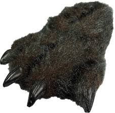 grizzly bear halloween costume amazon com norty grizzly bear stuffed animal claw slippers
